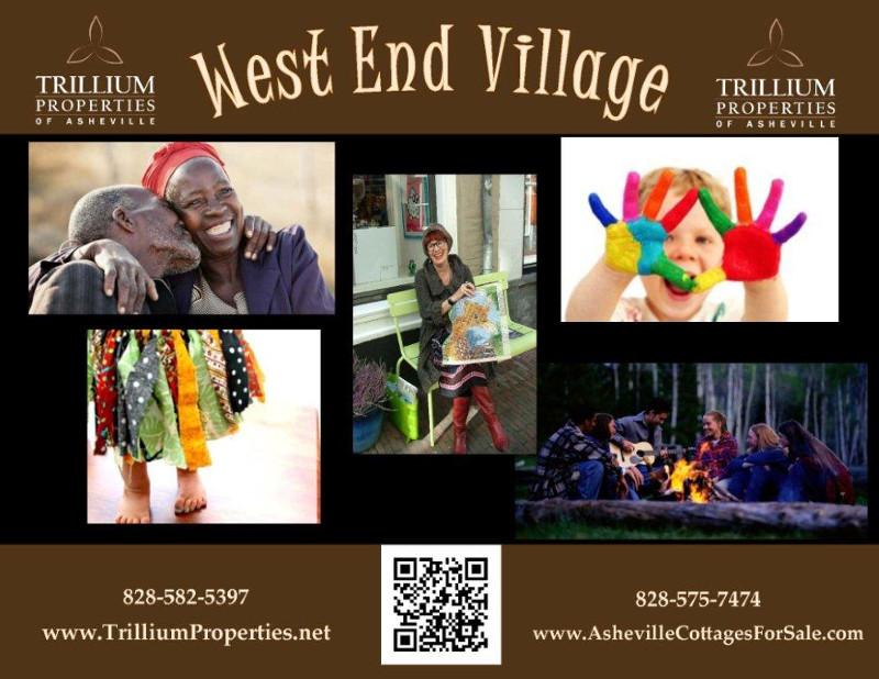 West End Village Brochure Cover
