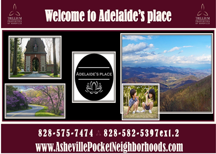 Adelaide's Place Brochure Cover